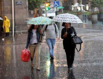Pronostican lluvias en el sur y sureste del país, incluido el Estado de Oaxaca