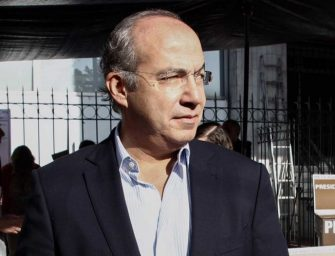 Publica López Obrador solicitud de Calderón para mantener seguridad