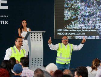 Obtienen 56.6 mdp por subasta de bienes inmuebles del narco