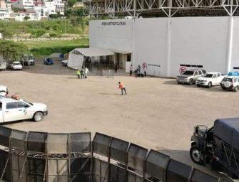 Habilitan albergue para migrantes en Chiapas