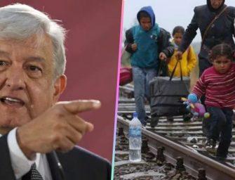 """""""Si es necesario, nacionalizaremos a niños migrantes"""", AMLO"""