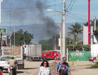 Reportan fuerte enfrentamiento en la zona de Viguera