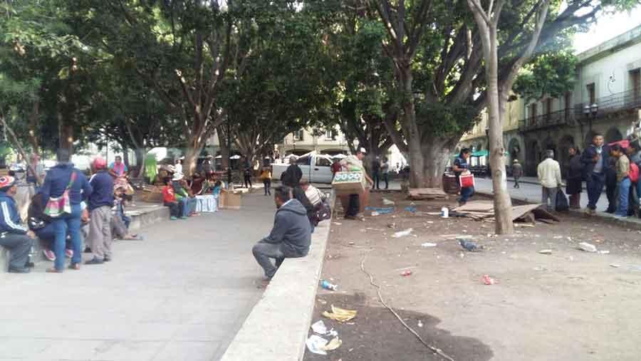 Photo of Tras diálogo con la Segego, se van desplazados de la Vicente Guerrero del Zócalo