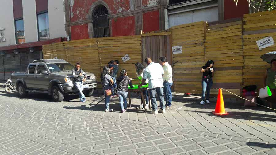 Photo of Comerciantes de la Plaza Aldama exigen espacios dignos para vender