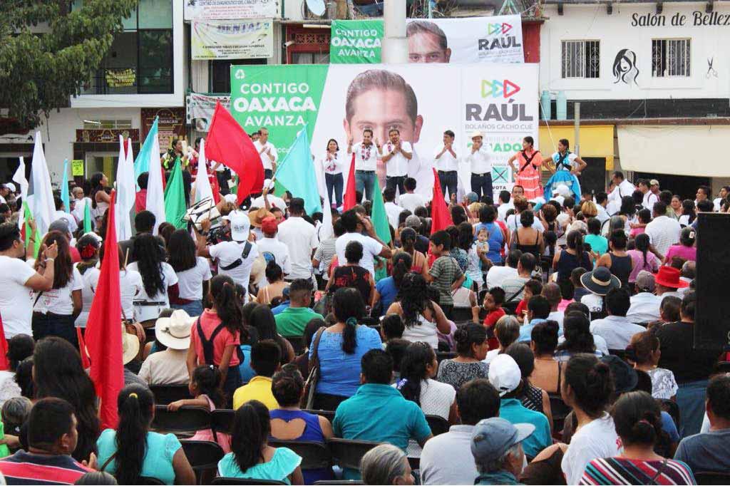 Photo of ¡Con Raúl, en Pochutla gana el PRI!