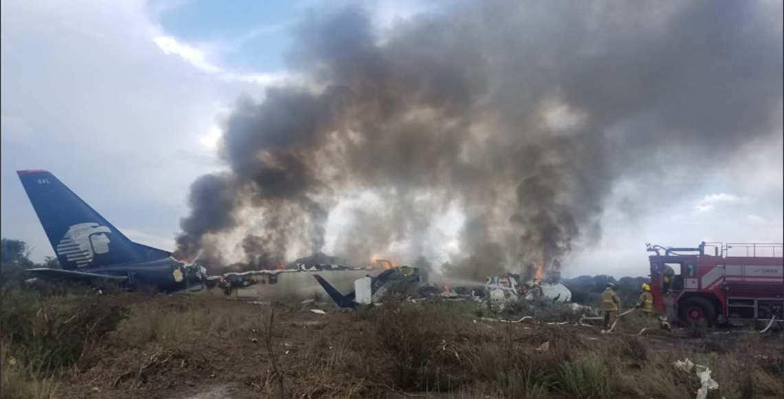 Photo of Sin fallecidos en desplome de avión en Durango