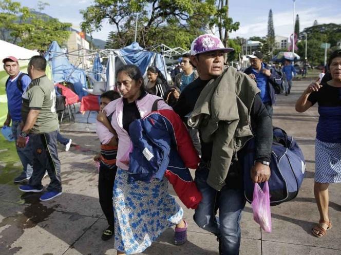 Photo of Segunda caravana de migrantes salvadoreños sale con rumbo a EU