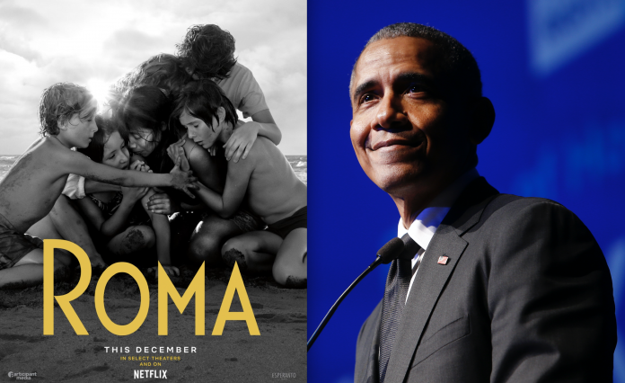 """Photo of Barack Obama elige a """"Roma"""" como una de sus películas favoritas"""