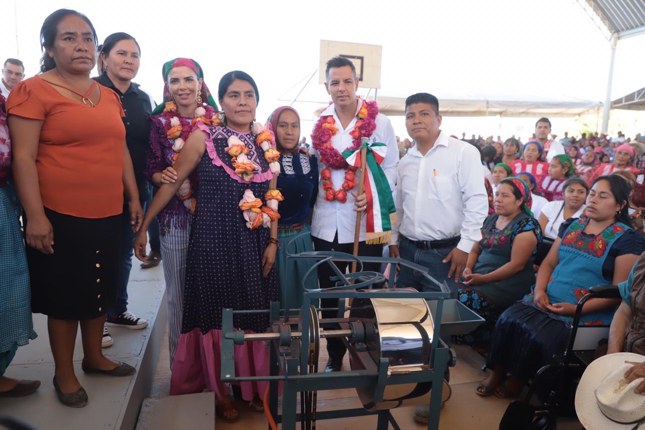 Photo of Fortalece Gobierno de Oaxaca actividades productivas de mujeres de San Bartolomé Quialana