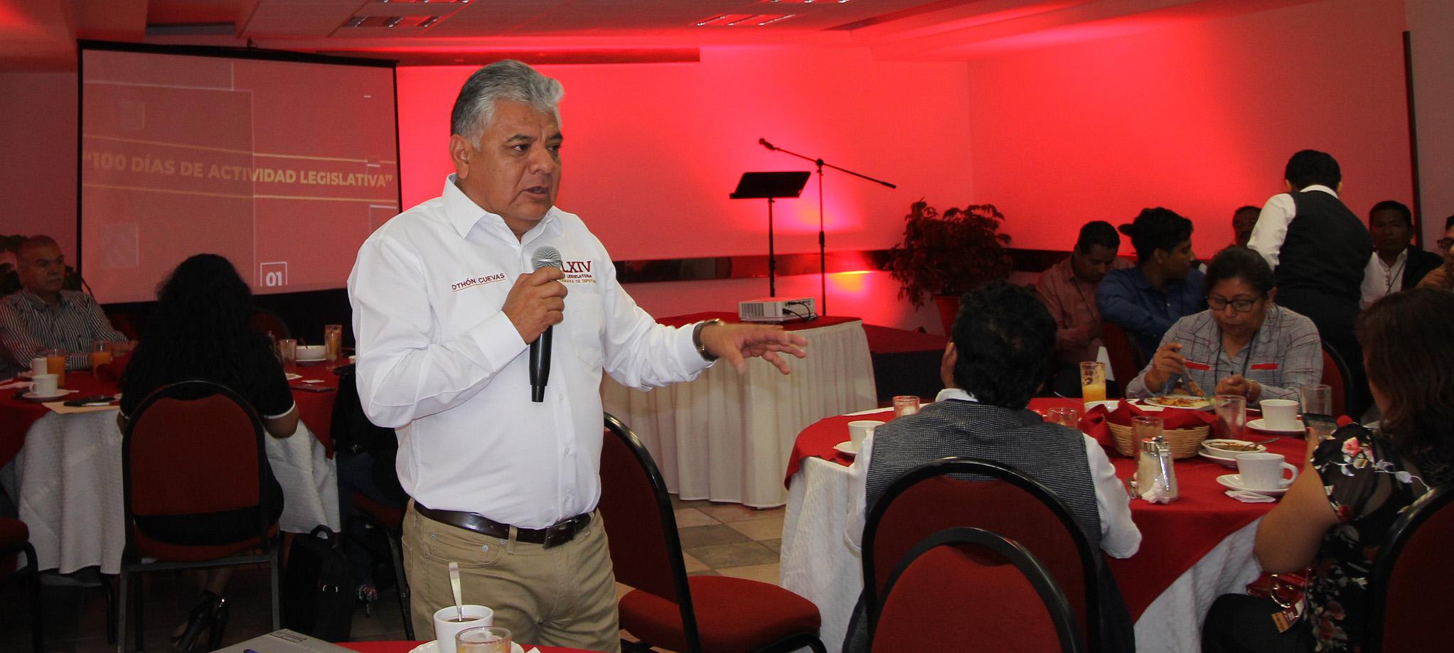 """Photo of Se acabaron diputados """"gestores"""" y con ellos los mecanismos de corrupción en Oaxaca"""