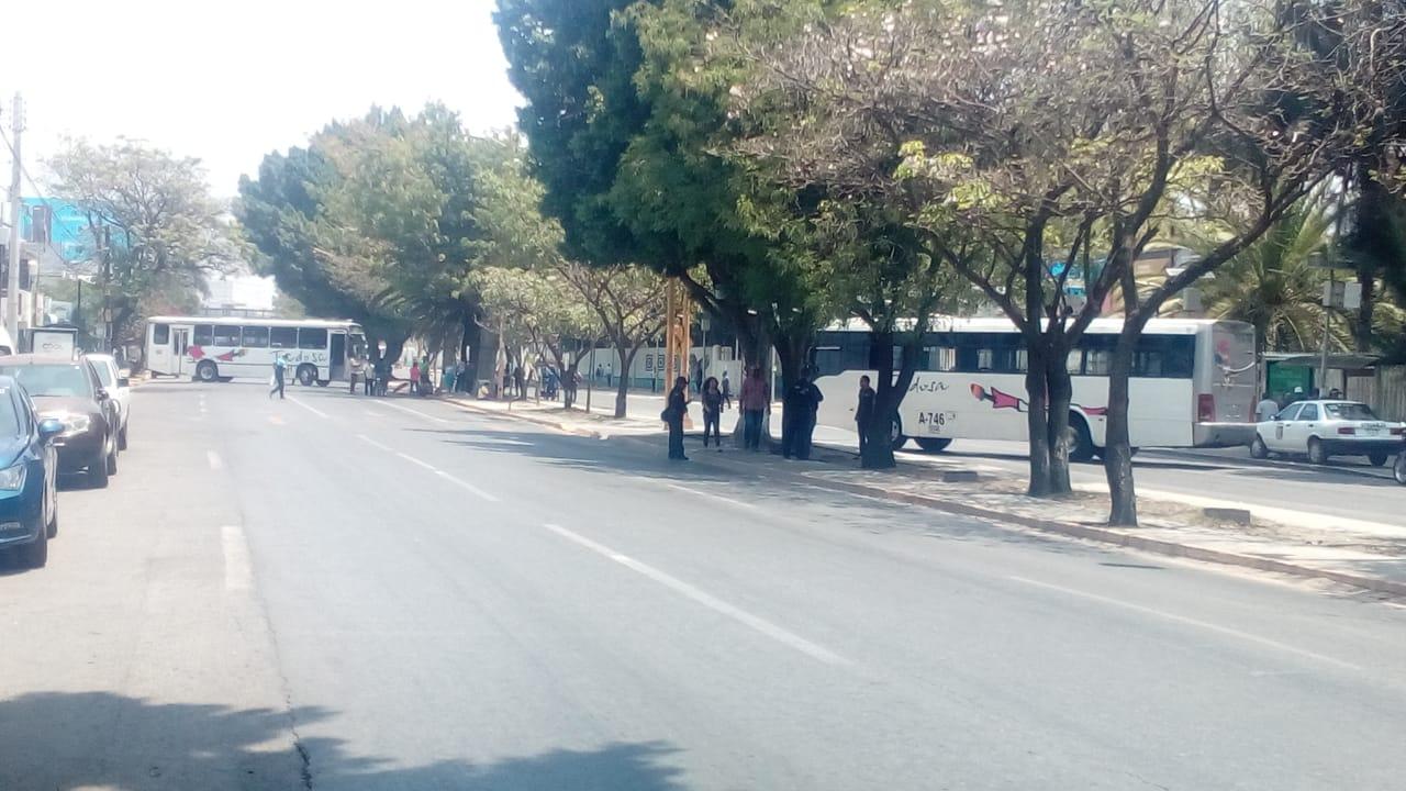 Photo of STEUABJO bloquea sobre Avenida Universidad