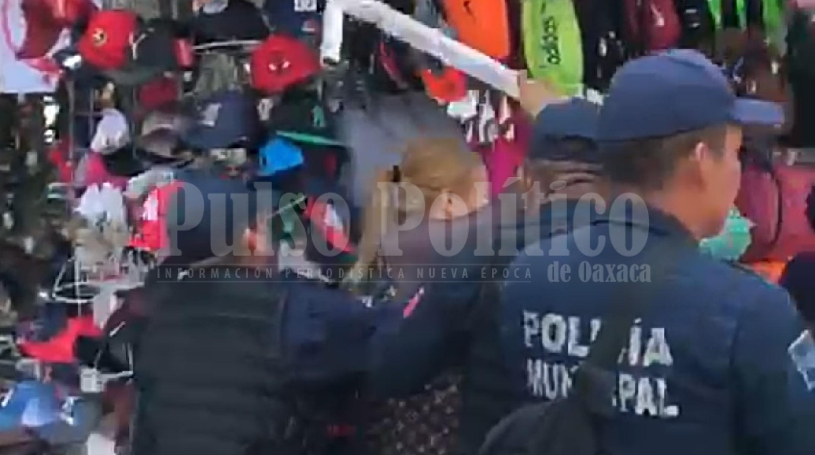 Photo of Como timorato califican al municipio de Oaxaca por tema de ambulantaje