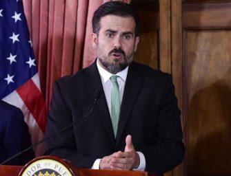 Gobernador de puerto Rico pide 'tregua' y fin de marchas
