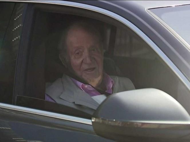 Photo of Rey Juan Carlos sale del hospital tras cirugía cardiaca