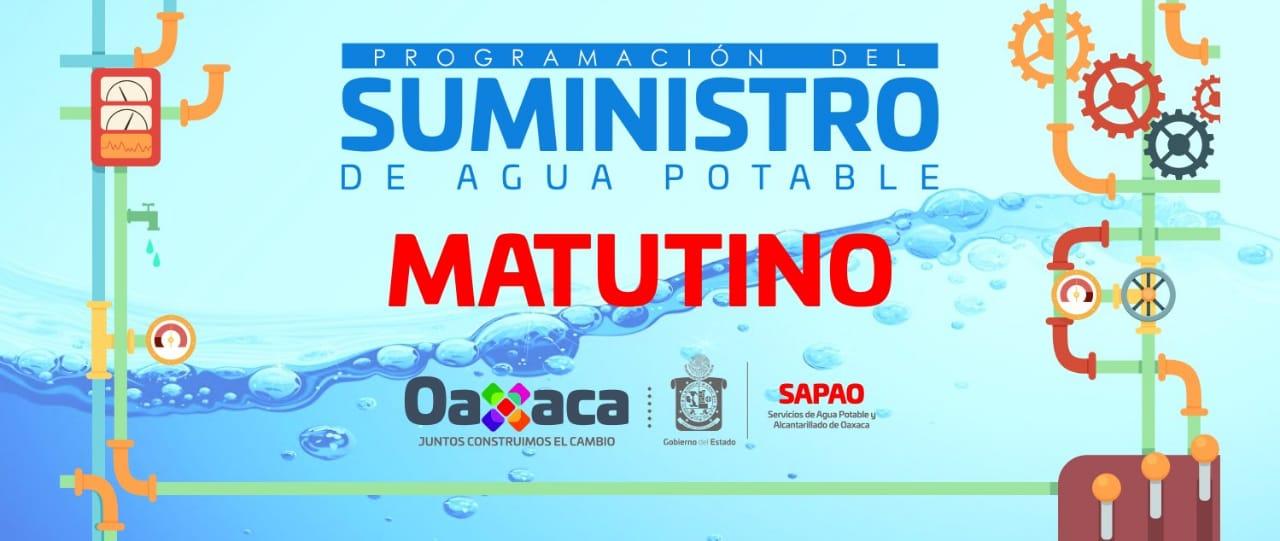 Photo of Consulta el suministro de agua potable para este Sabado 31 de Agosto