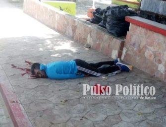 Ejecutan a hombre en San Pedro Mixtepec