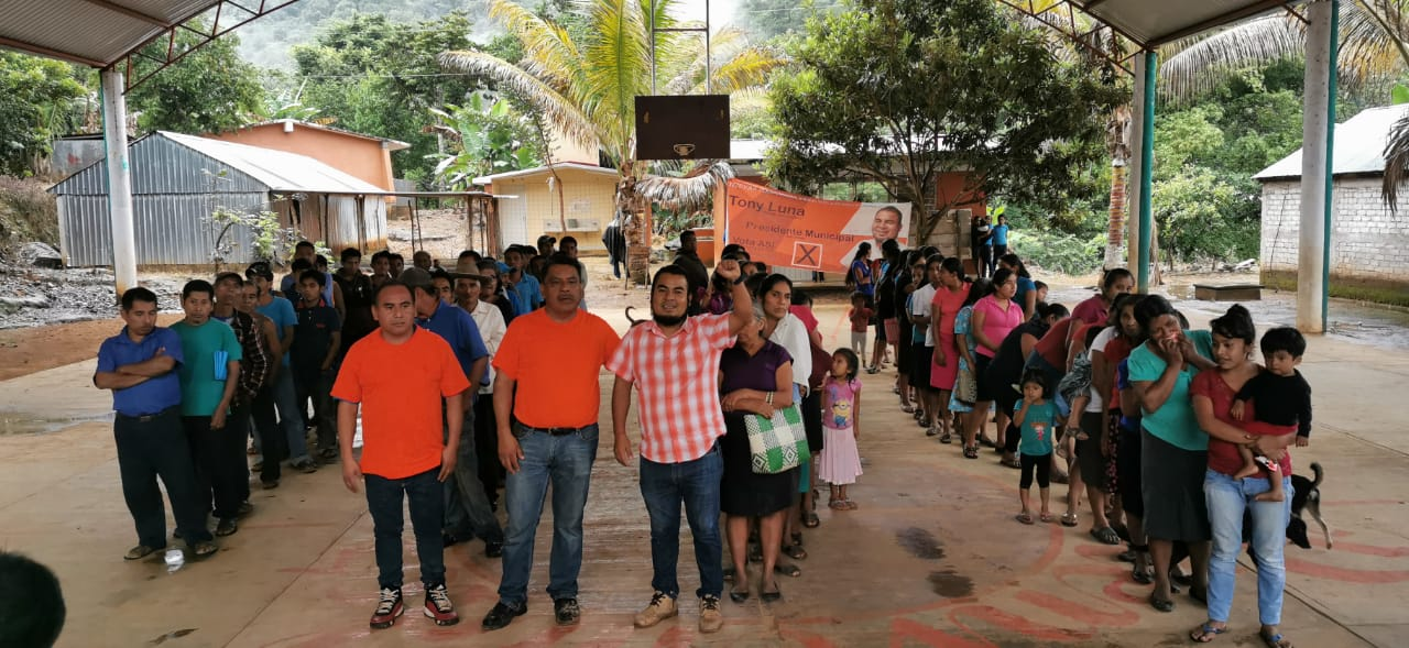Photo of La Sirena y Chilapa, Loxicha respaldan al Hijo del Pueblo, Tony Luna Enríquez; de la planilla naranja