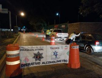 Concluye Operativo Alcoholímetro en la Ciudad Capital