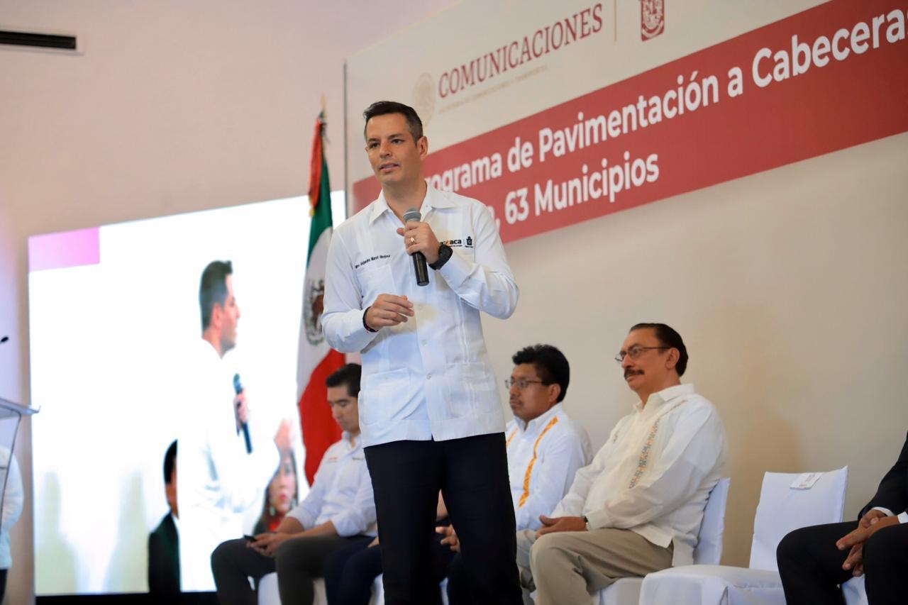 Photo of Se incorporan 63 municipios de Oaxaca al Programa de Pavimentación de Accesos a Cabeceras Municipales