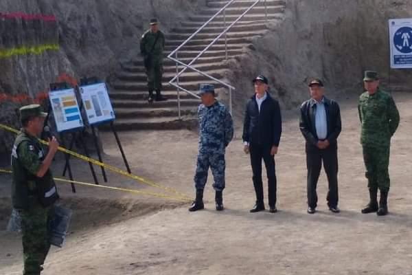 Photo of AMLO supervisa trabajos de Base Militar de Santa Lucía; asegurá será ejemplo de modernidad y austeridad