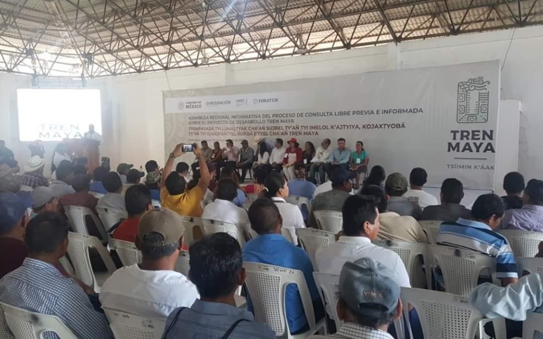 Photo of Realizan las primeras asambleas regionales informativas sobre el Tren Maya