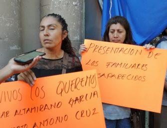 Piden dar con el paradero de dos desaparecidos en Oaxaca