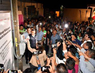 Inicia en Oaxaca de Juárez renovación de alumbrado público