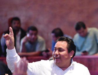 Grupo parlamentario de morena con unidad y de puertas abiertas: Horacio Sosa
