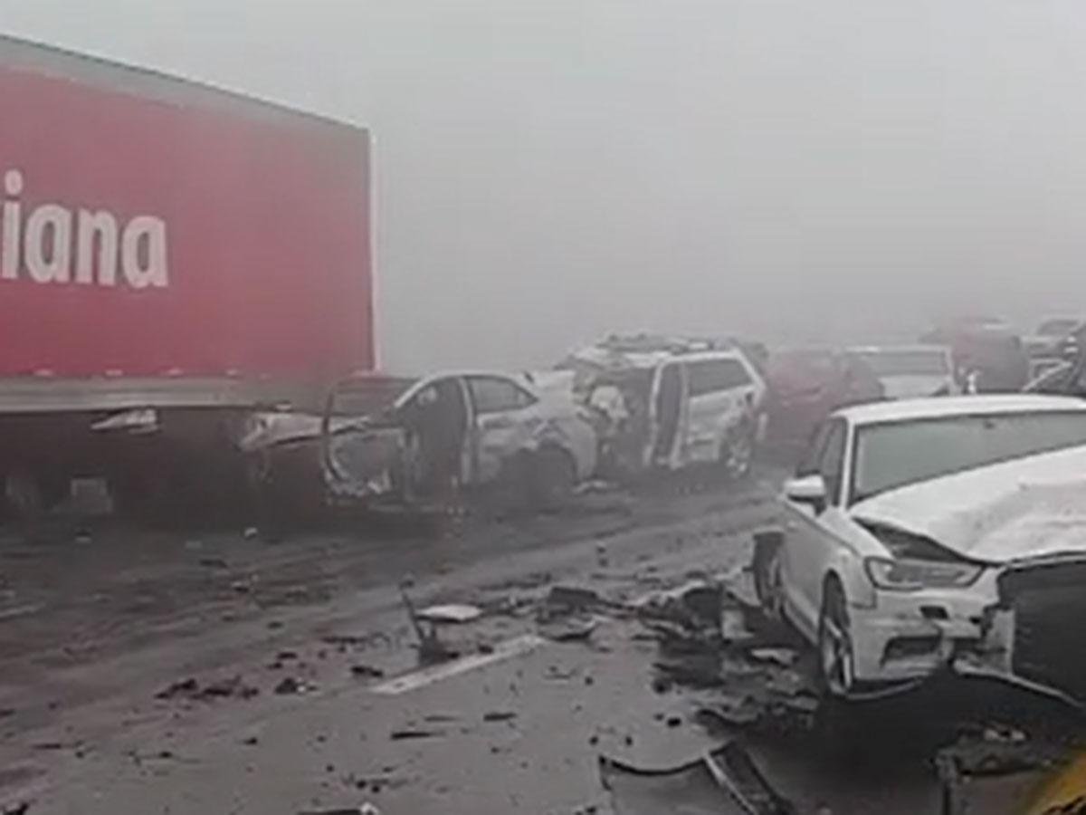 Photo of Impactantes imágenes de la mega carambola en autopista de NL