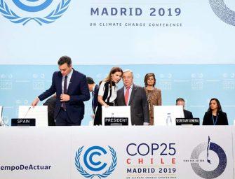 Termina COP25 con acuerdo para disminuir emisiones de gases de efecto invernadero