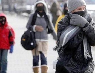 Ingresa frente frío número 23 que generará bajas temperaturas en la mayoría del país