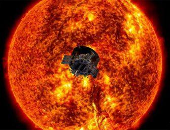 Una nave de la #NASA se adentra en el Sol y sobrevive a un millón de grados por primera vez