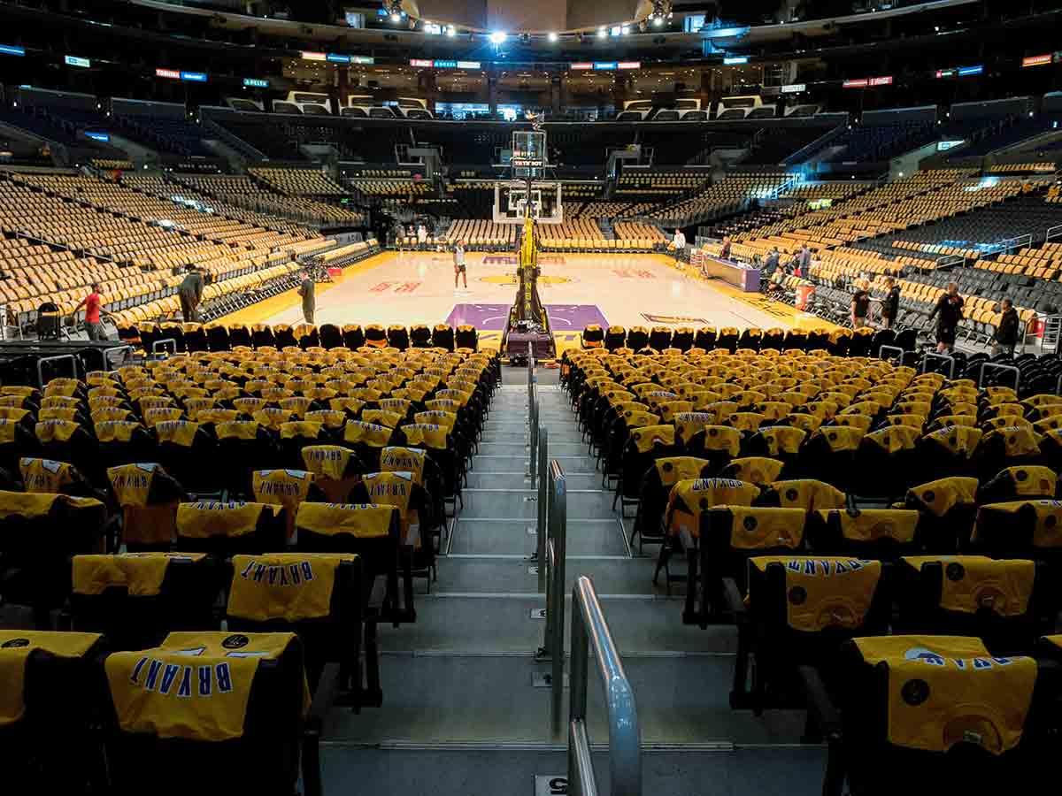 Photo of Emotivo homenaje a Kobe Bryant en el Staples Center