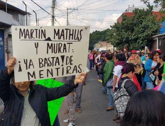 Marcha SITYPS en la ciudad
