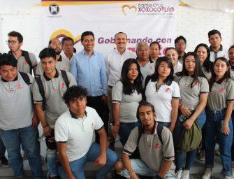 Impulsan Cobao y Santa Cruz Xoxocotlán Sistema de Educación Abierta
