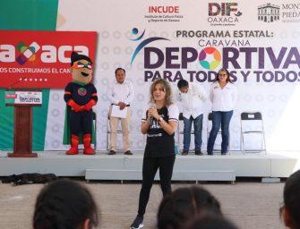 Caravana Deportiva llega a San Luis Beltrán