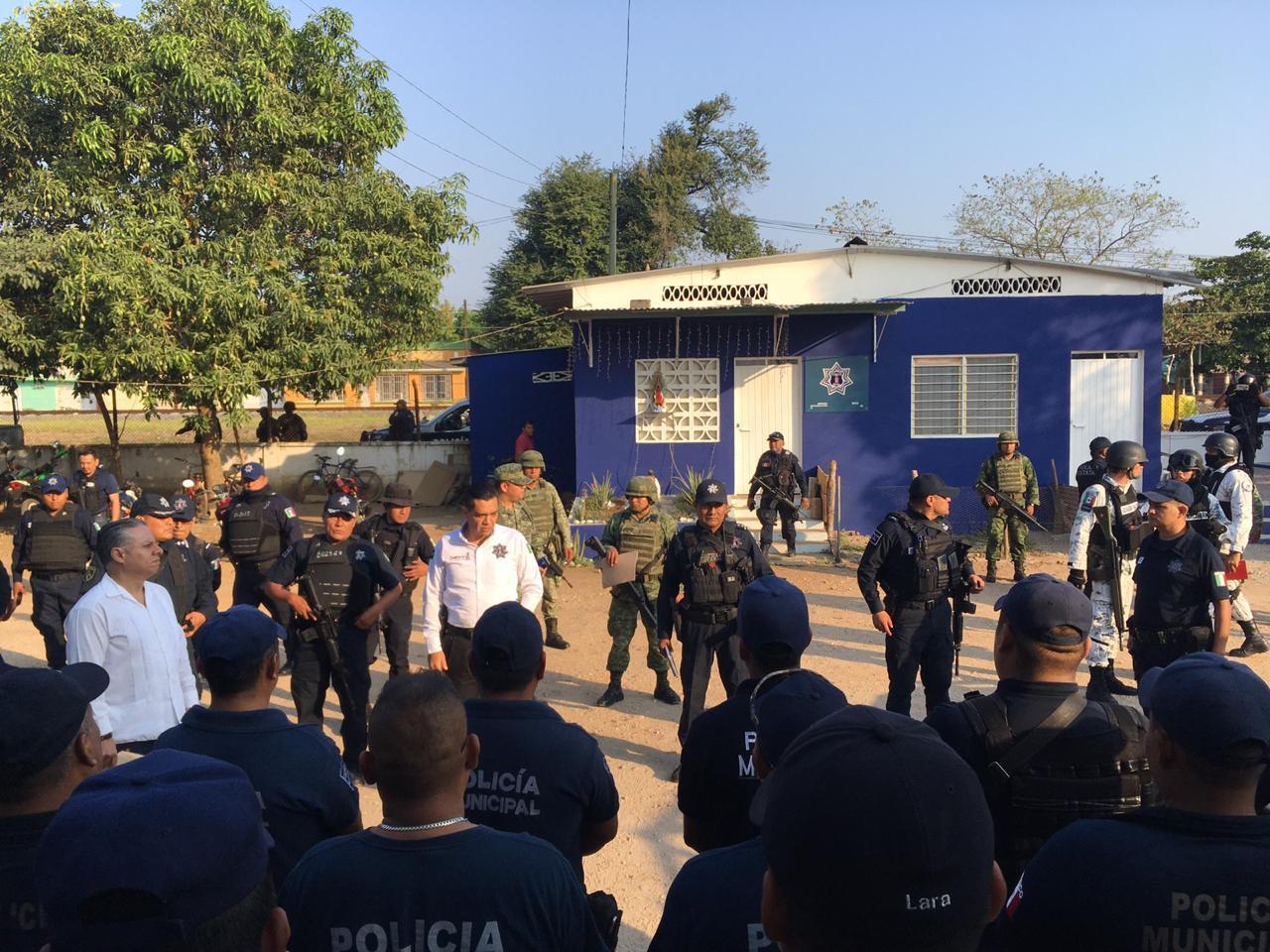 Photo of Reinstala SSPO Comandancia de la Policía Estatal en Loma Bonita
