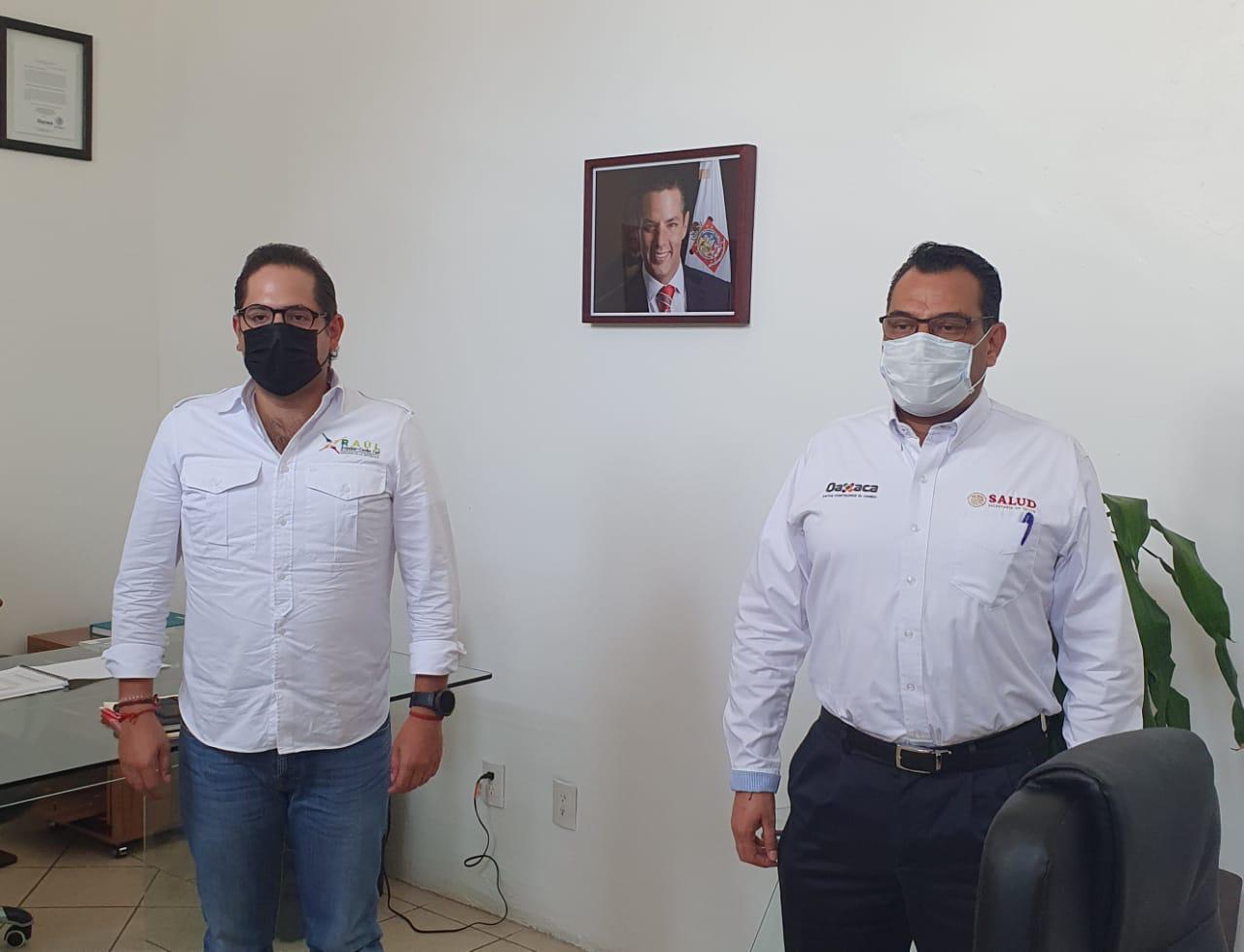 Photo of Dona Raúl Bolaños-Cacho Cué dieta legislativa para equipamiento a profesionales de la salud y sanitizar clínicas de Oaxaca