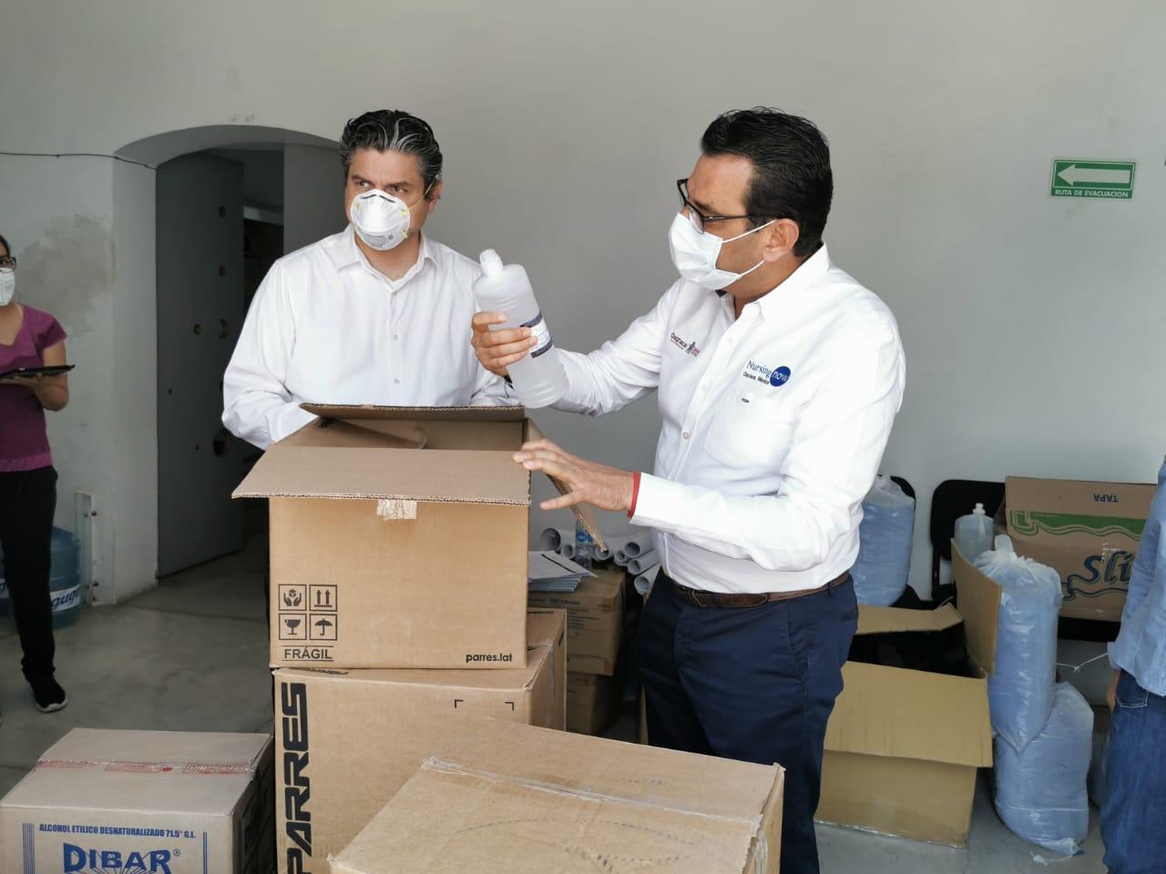 Photo of Fortalece SSO a 14 hospitales  con equipo de bioseguridad contra COVID-19