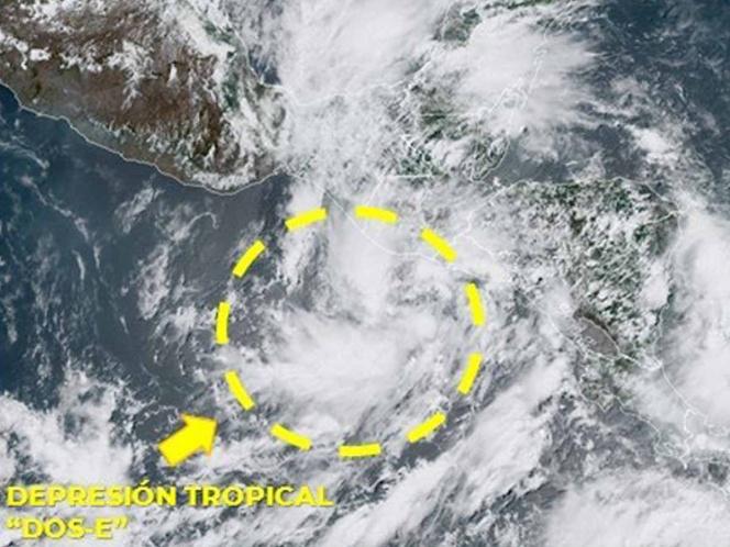 Photo of Se crea la primera Depresión Tropical de la temporada en el Océano Pacífico