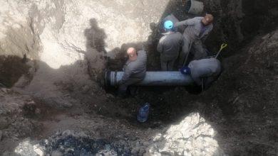 Photo of Trabaja SAPAO en reparación de línea de agua afectada por fuga