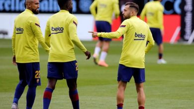 Photo of Umtiti, baja en el Barcelona por problemas de rodilla.