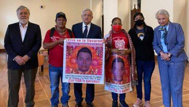 Photo of Presentan avances de caso Ayotzinapa a padres de los 43 desaparecidos.