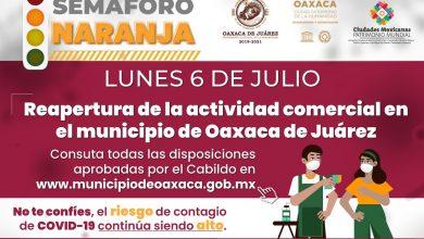 Photo of Aprueba Cabildo de Oaxaca de Juárez reapertura de la actividad comercial con medidas sanitarias estrictas