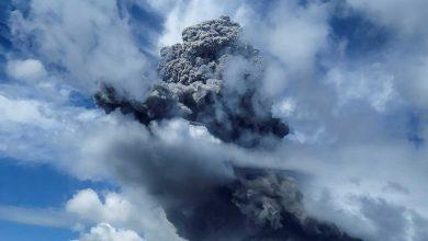Photo of Volcán Sinabung vuelve a hacer erupción en Indonesia