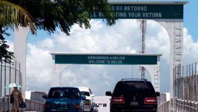 Photo of Cancelan reapertura de frontera México-Belice por aumento de Covid-19