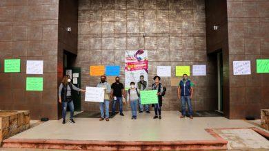 Photo of TRABAJADORES DEL STPEIDCEO PROTESTAN A FAVOR DE LOS TRABAJADORES DEL REGISTRO CIVIL