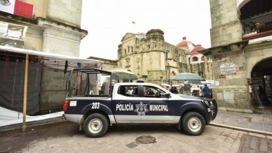 Photo of Para garantizar seguridad de la población, acordona Ayuntamiento el Zócalo de Oaxaca de Juárez