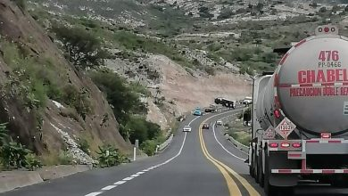 Photo of Vuelca camión de la Guardia Nacional en la autopista Cuacnopalan-Oaxaca