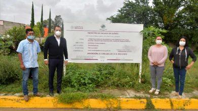 Photo of Reafirma Oswaldo García su compromiso con Pueblo Nuevo; inaugura pavimentación de calle
